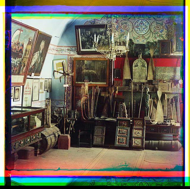 Museum. Iona's room. Rostov Velikii. Rostov, Volga River Region, Russia.